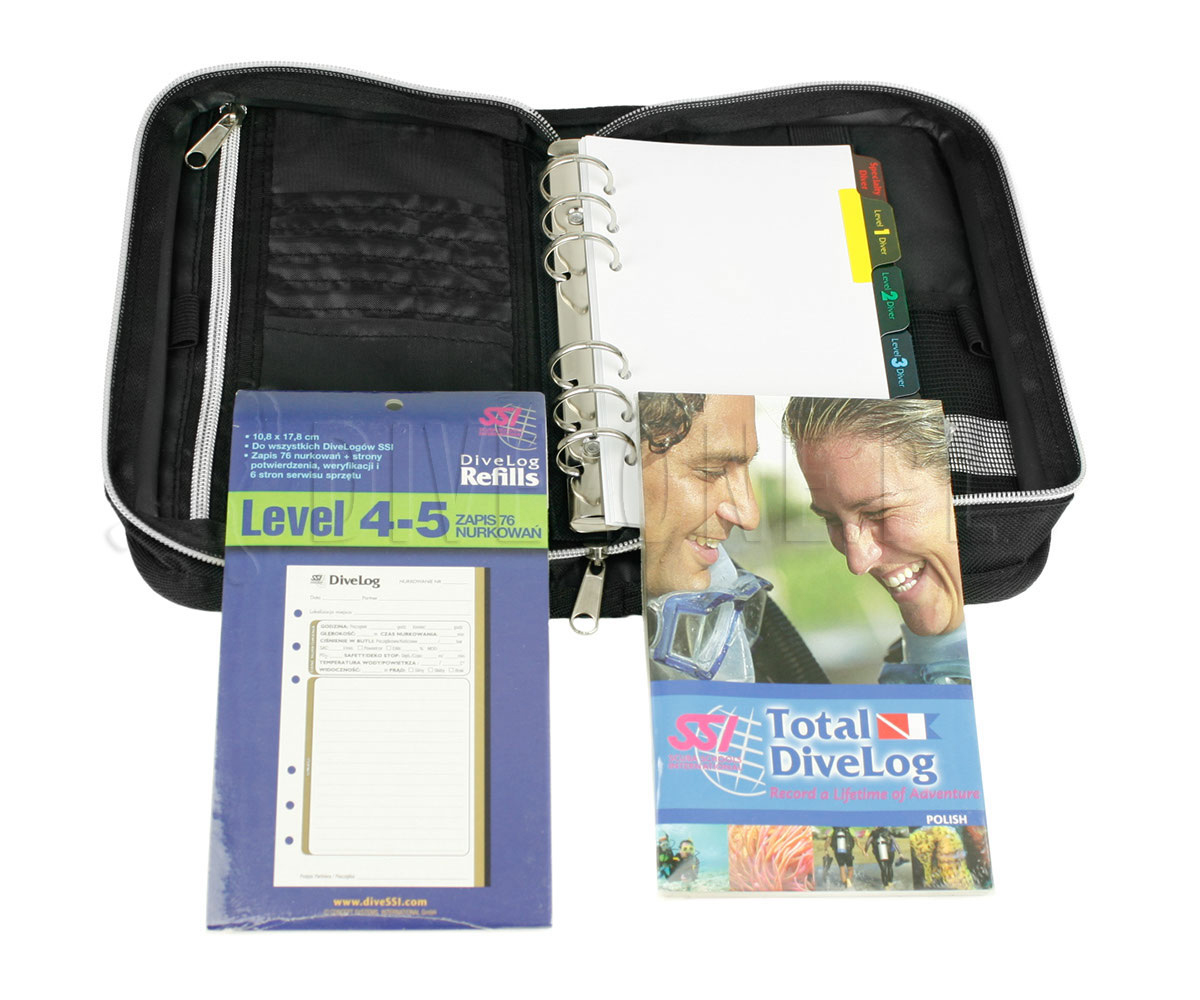 SSI Total Dive Log Deluxe - logbook nurkowy