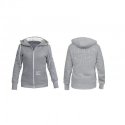 SANTI Ladies Light Blend Hoodie - gray