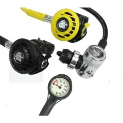 APEKS ATX 40 / DS4 + Octopus ATX40+Manometer