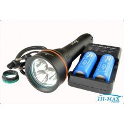 Latarka HI-MAX H14, 2500 lm - zestaw