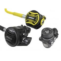 APEKS XTX200 Tungsten + Octopus XTX40