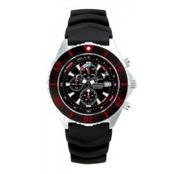 Zegarek nurkowy Chris Benz Depthmeter Chronograph 300M SSI Edition CB-C300-SSI-KBS