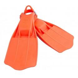 Płetwy TECLINE Jet Stream Pomarańczowe ze sprężynami