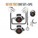 Automat do twinsetu TECLINE V2 ICE TEC1 z manometrem (2x1.stopień+2x2.stopień)