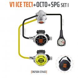 Automat V1 ICE TEC1 zestaw I z oktopusem i manometrem - EN250A