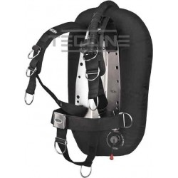 TECLINE Donut 17 Comfort harness and single tank adapter