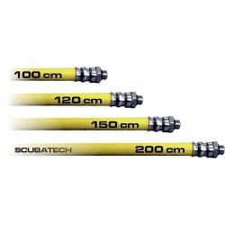 ScubaTech LP Hose 100cm yellow