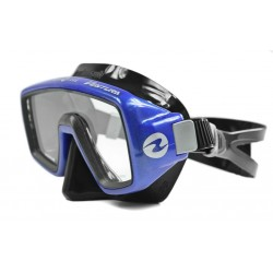 Maska TECHNISUB Ventura - przezroczysty silikon