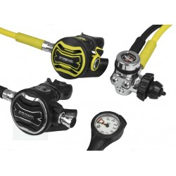 APEKS XTX200 + Octopus XTX40 + Manometer