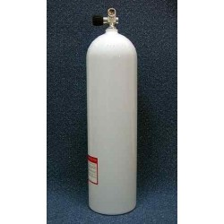 LUXFER Cylinder S080 200bar with Valve White