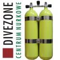 DIVEZONE Twinset Faber 2x12l, 12kg Halcyon