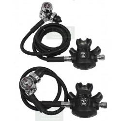 APEKS XTX50 / TEK3 x 2 węże 90/200cm