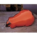 HALCYON Boja wypornościowa, 80-lb (36.3 kg) zamknięta, pomarańczowa