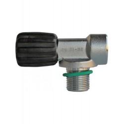 TECLINE Zawór pojedynczy M25x2 232 bar - do rebreathera