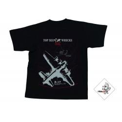 Koszulka TECLINE B-17 czarna