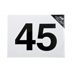 TECLINE Naklejka MOD 45, 16 x 12 cm