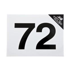 TECLINE Naklejka MOD 72, 16 x 12 cm