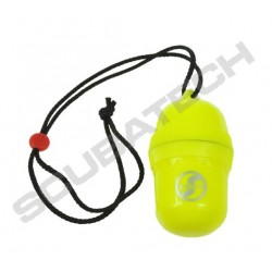 """SCUBATECH Waterproof container """"egg"""" yellow"""