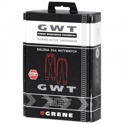 GRENE Kalesony GWT Technical Fit szaro-czarne