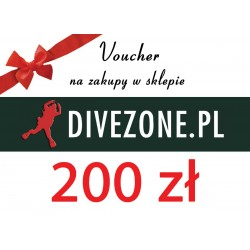DIVEZONE Voucher 200 zł