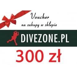 DIVEZONE Voucher 300 zł