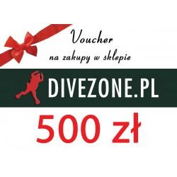 DIVEZONE Voucher 500 zł