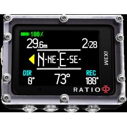 RATIO iX3M GPS Deep czytelność
