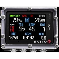 RATIO iX3M GPS Reb czytelność