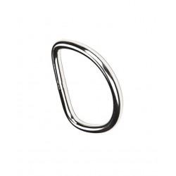 DIVEZONE D-ring płaski o przekroju 6mm