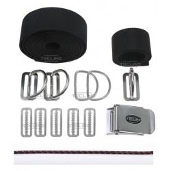 Harness only TECLINE DIR - fixed d-rings, webbing belt standard