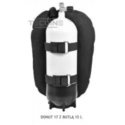 Skrzydło TECLINE Donut 17 z wbudowanym adapterem