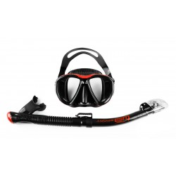 TUSA Powerview Adult Dry Combo - zestaw maska i fajka