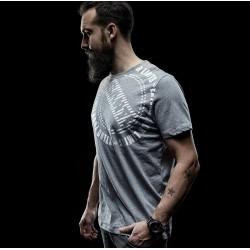 SANTI koszulka CIRCLE - szara