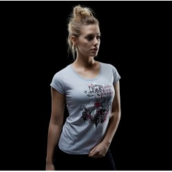 Koszulka SANTI Lady ANCHOR - jasnoszara