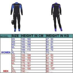 AQUALUNG Balance Comfort Pianka Męska 7 mm