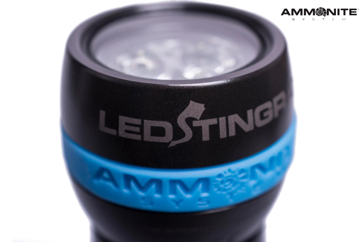 Latarka AMMONITE SYSTEM LED Stingray Basic Set