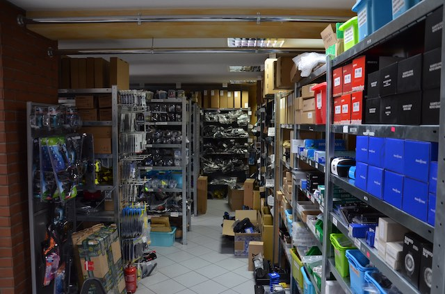 Wnętrze sklepu DIVEZONE.PL
