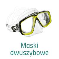 Maski do nurkowania jednoszybowe