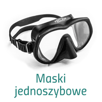 Maski do nurkowania dwuszybowe