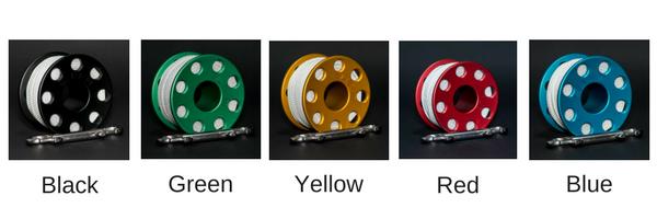 SUB-M Szpulka aluminiowa - kolory