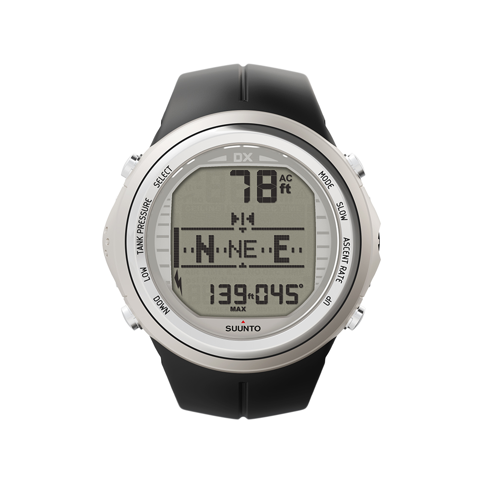 SUUNTO DX Silver Elastomer + interfejs + torba